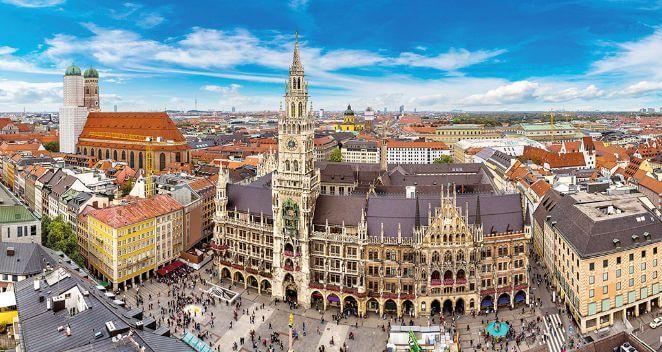 Город Мюнхен фото