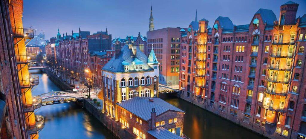 Город Гамбург фото