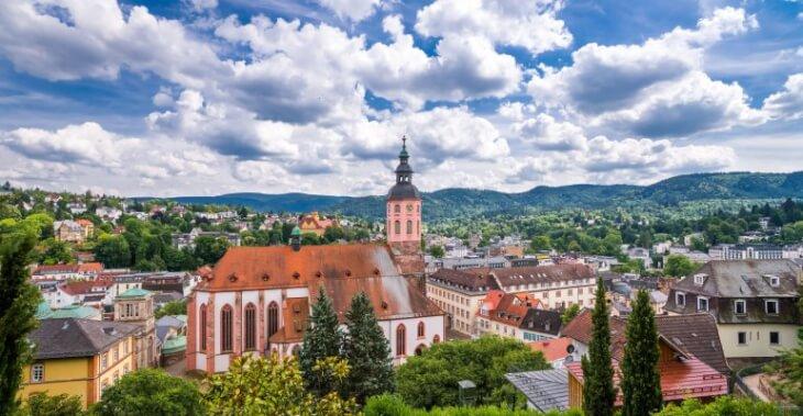 Город Баден-Баден фото