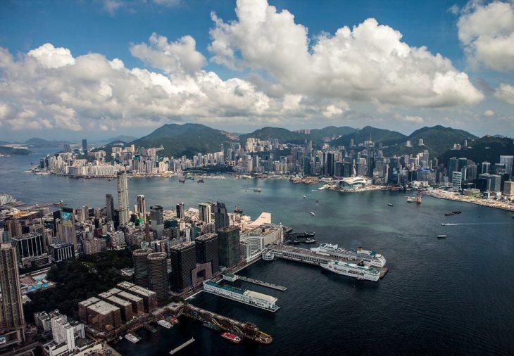 Бухта Виктории Гонконг
