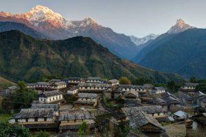 Бюджетная страна Непал