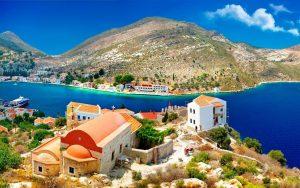 Бюджетная страна для отдыха Греция