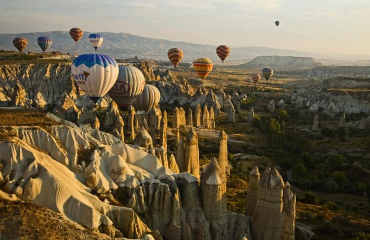 Долина Каппадокии в Турции
