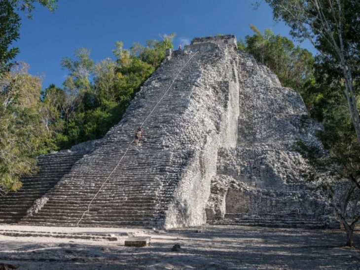 Достопримечательность Мексики - Коба