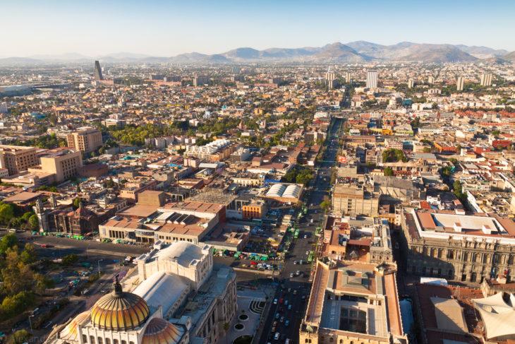 Достопримечательность Мексики - город Мехико