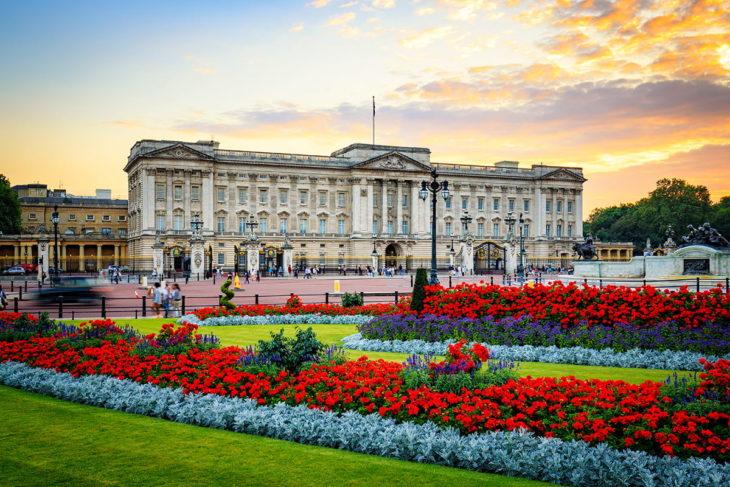 Достопримечательности Англии - Букингемский дворец