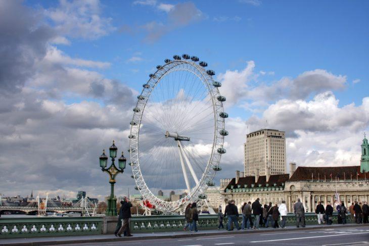 Достопримечательности Англии - Лондонский глаз