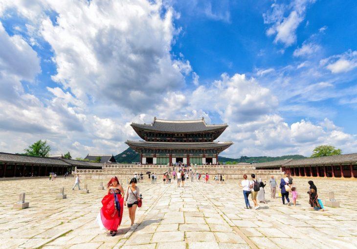 Дворец Кенбоккун в Сеуле