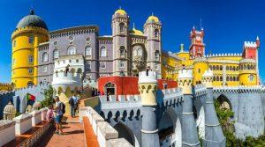 Дворцы Синтры в Португалии