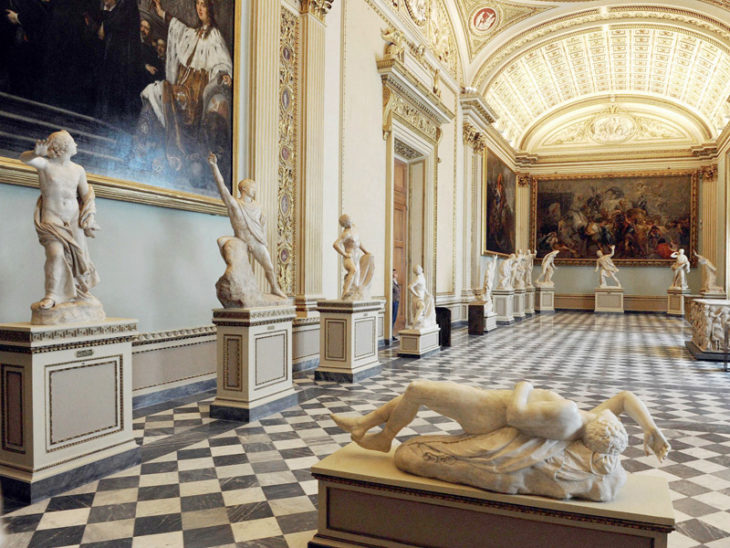 Галерея Уффици в Италии