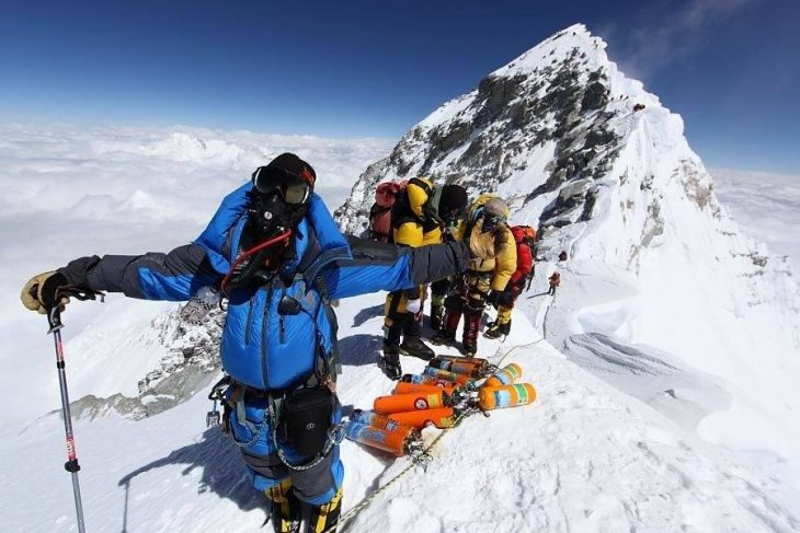 Идея для путешествий - Покорить Эверест