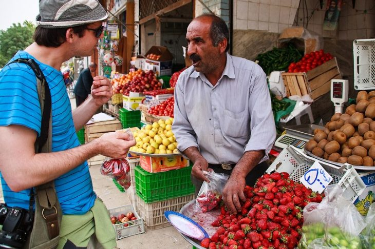 Идея для путешествий - поторговаться в Иране