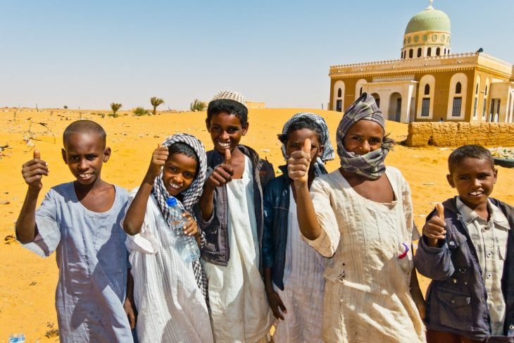 Идея для путешествий - прочувствовать Африку
