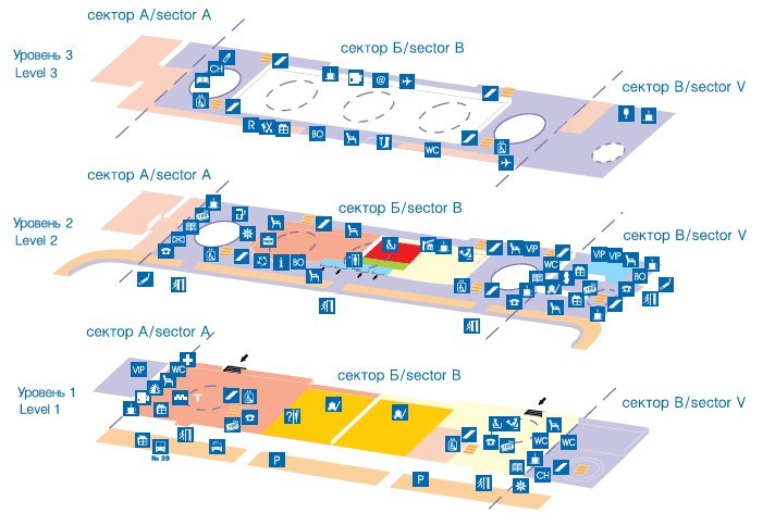Информация об аэропорте Пулково