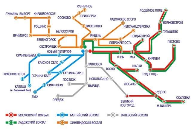 Как добраться до Пулково на электричке