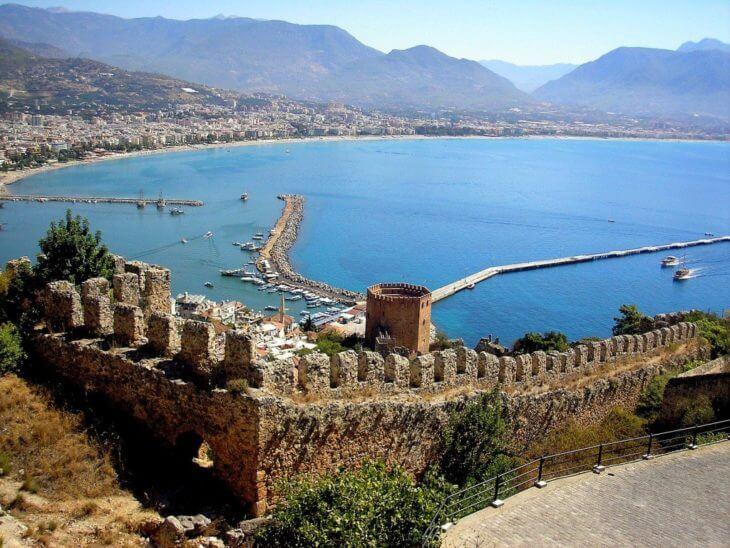 Крепость Аланьи в Турции