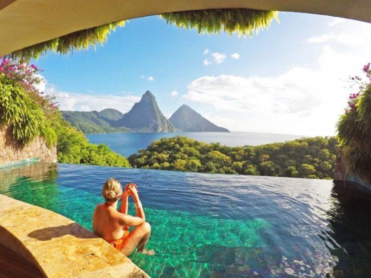 Медовый месяц на Острове Святой Лючии