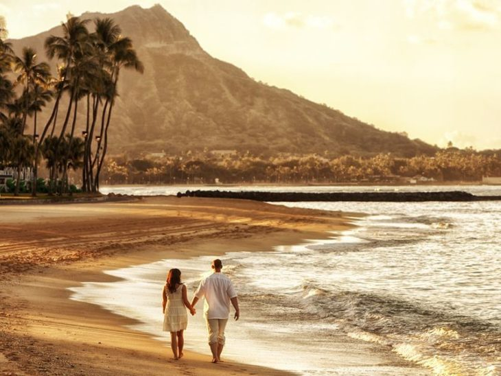 Медовый месяц в Оаху