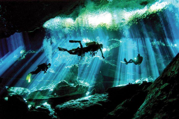 Сразу несколько островов Мексики облюбовали подводные ныряльщики.