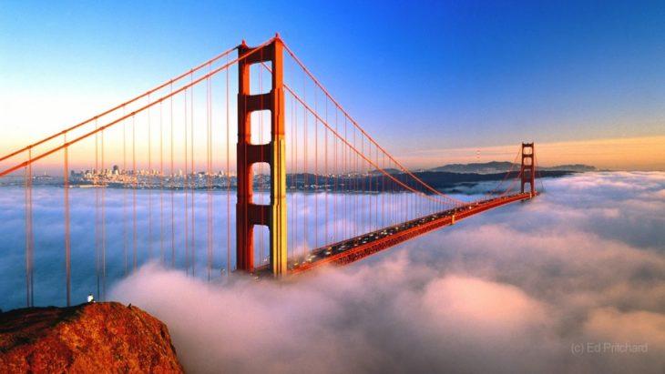 Мост «Золотые Ворота» в США