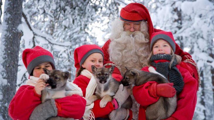 Новый год с детьми в финляндии