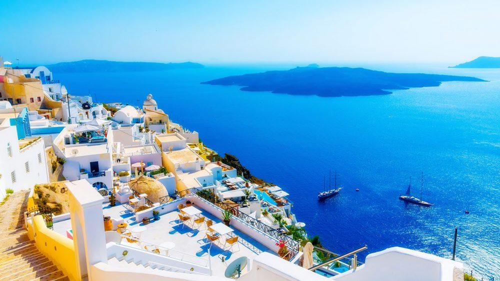 Популярная страна для отдыха - Греция