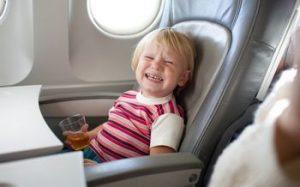 Правила поведения для детей на борту