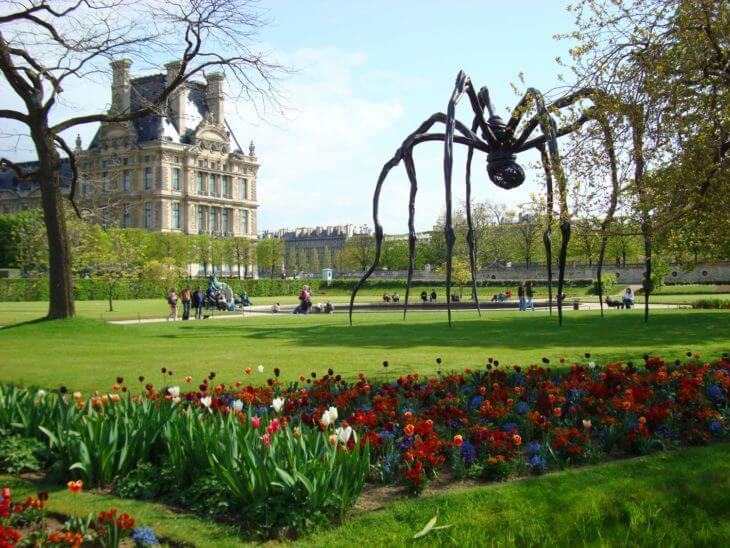 Сады и парки в Париже