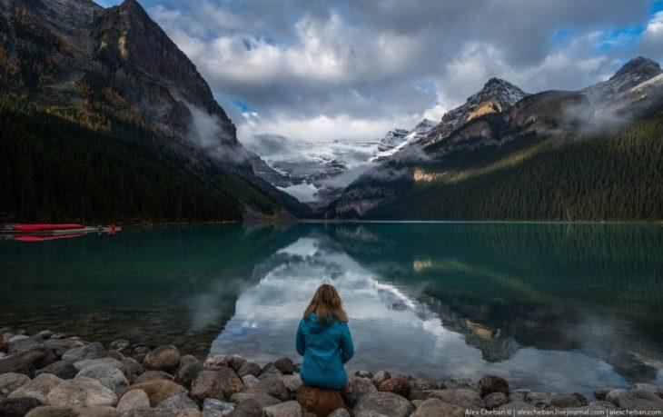 Скалистые горы в Канаде