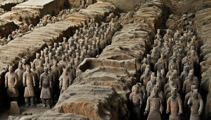 Терракотовая армия в Китае