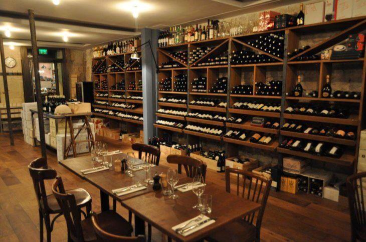Винный бар в Париже