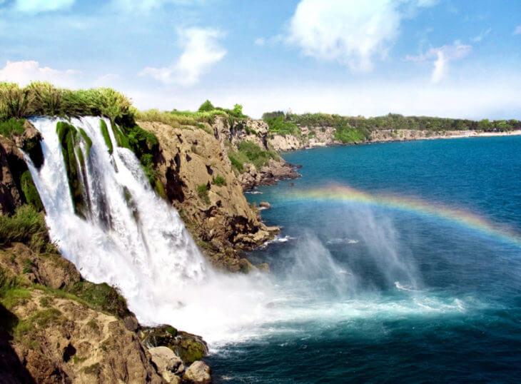 Водопады Дюден в Анталии