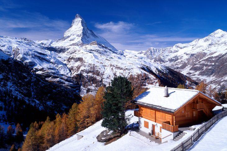 горнолыжный курорт церматт швейцария