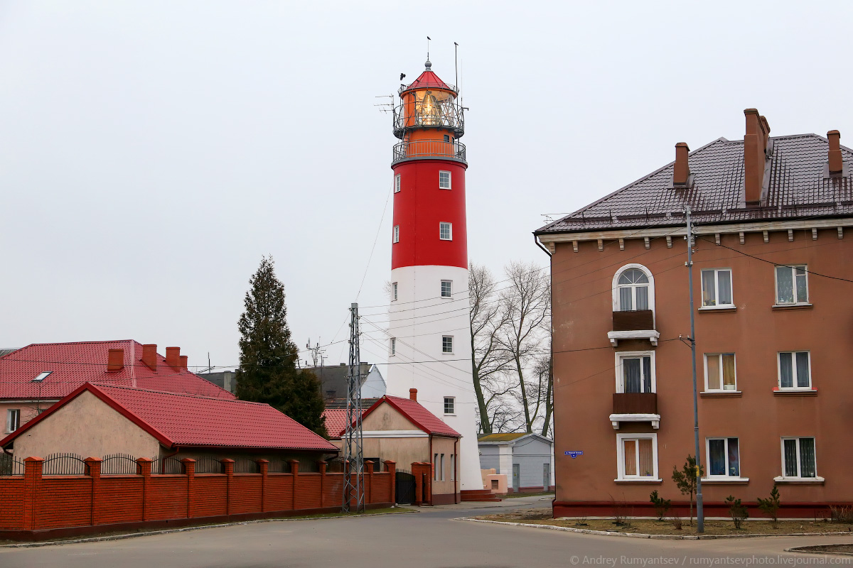 """Маяк """"Балтийский"""". Самый западный маяк России. Эксклюзивное интервью со  смотрителем маяка."""