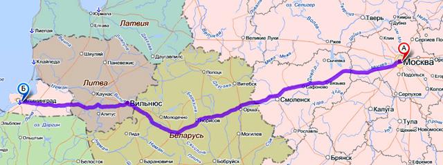 В Калининград на машине: оформление транзитной визы и зеленой карты