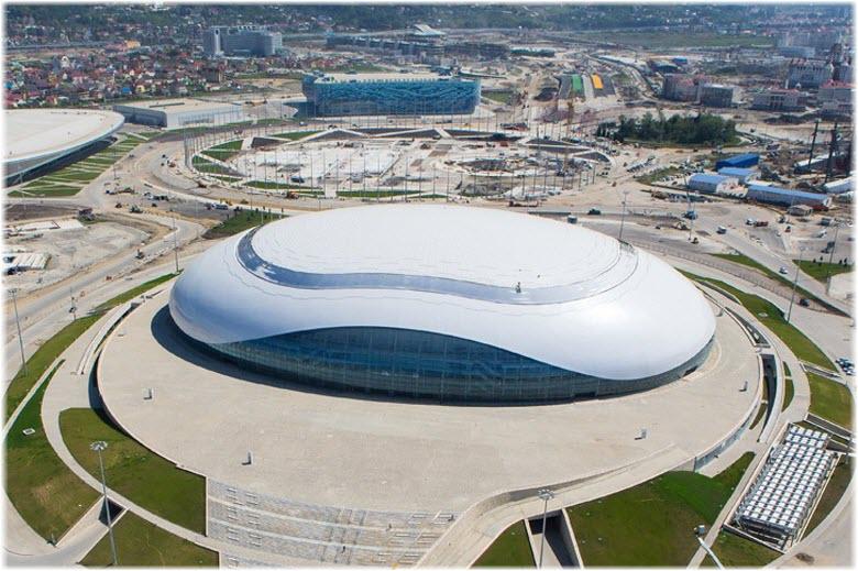 Ледовый дворец Большой в Адлере, Сочи: фото, сайт, афиша, описание