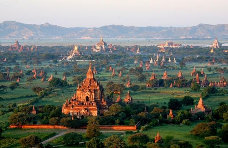 Топ 20 — достопримечательности Мьянмы