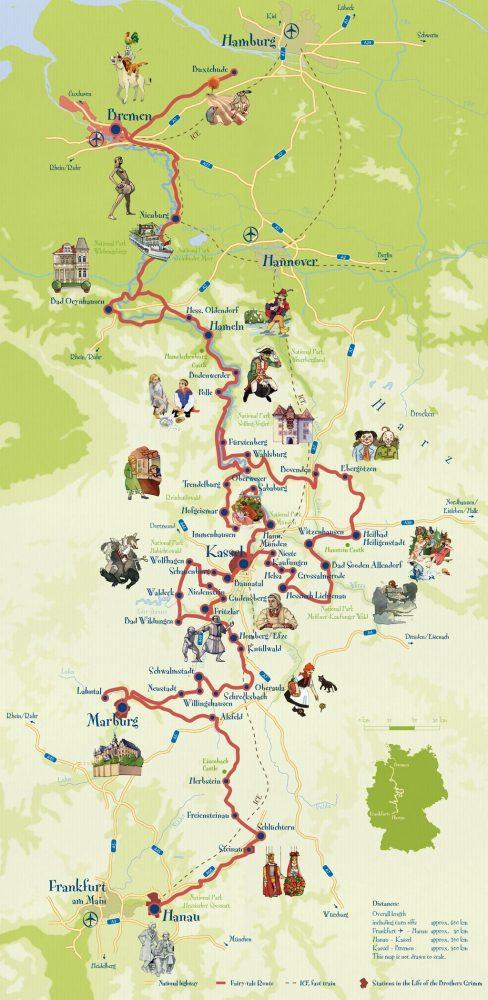 Дорога сказок в Германии