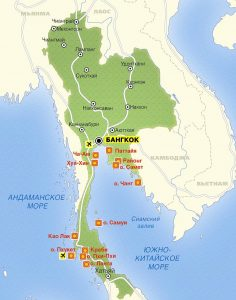 Маршруты и путеводители по Таиланду