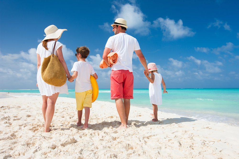 Места для пляжного отдыха с детьми