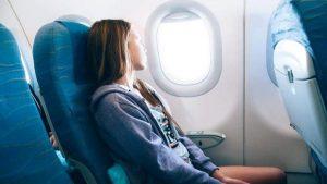 Место у окна в самолете