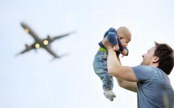 Полет на самолете с ребенком