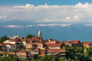 Популярная страна для отдыха - Грузия