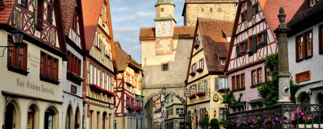 Популярные туристические города Германии