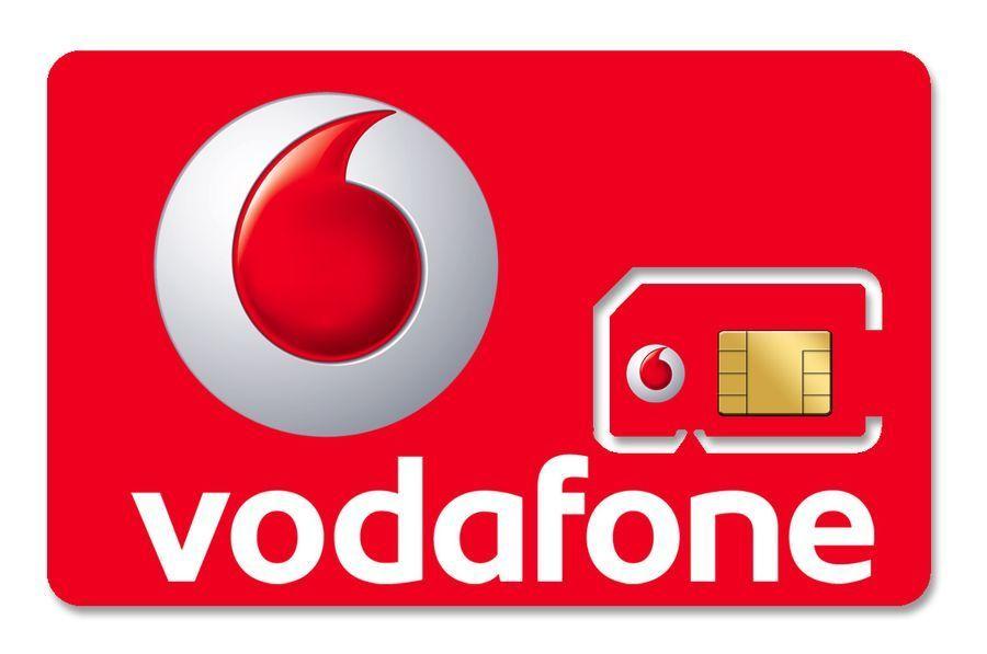 Сим карта Vodafone