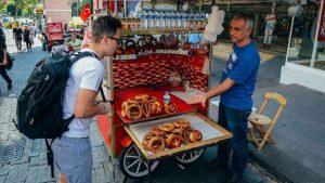 Уличная турецкая еда