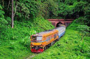 Железнодорожное сообщение Таиланда