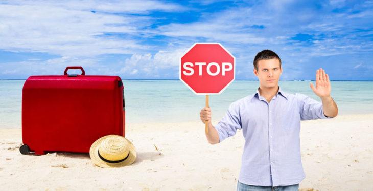 Запрещенные места для туристов