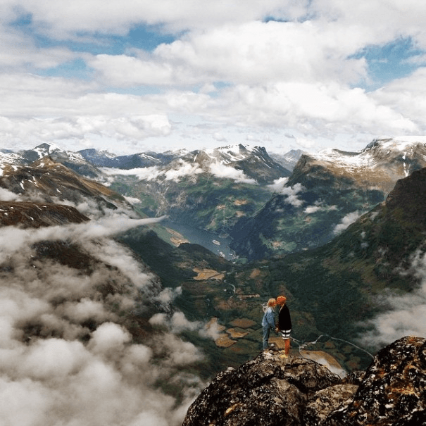 Travel фото с горах